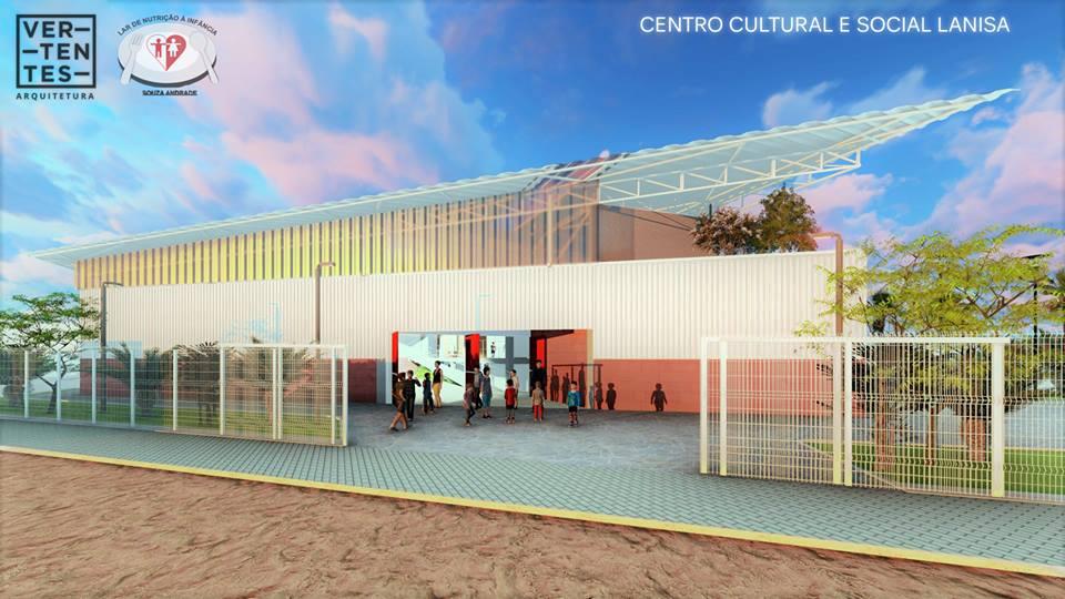 Construção do Centro Cultural e Social Lanisa